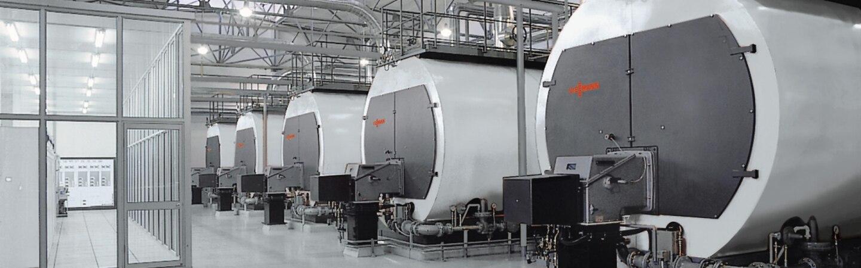 Dampfkessel für industrielle Anwendungen